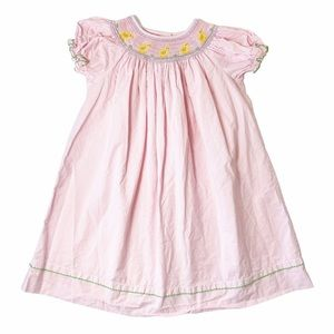Claire & Charlie smocked chick dress